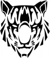 Tribal Tiger Stickers 29