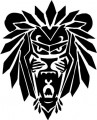 Tribal Lion Stickers 25