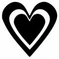 Heart Design Decal05