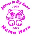 Cat Circle Memory Decals