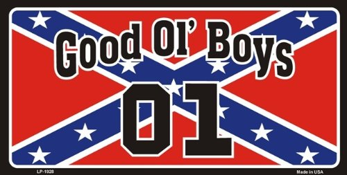 Good Ol Boys 01 Rebel Flag Sticker Custom Wall Graphics