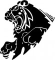 Tribal Lion Stickers 29