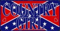 country girl rebel sticker