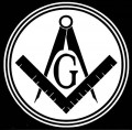 Masonic Decal Circle