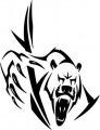 Tribal Bear Sticker Decals 21