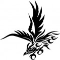 Tribal Eagle Stickers 07