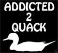 Addicted 2 Quack Wall Decal