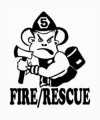 Fire and Rescue Decal