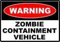 Walking Dead Zombie Wall Sticker 01