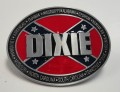 Dixie Rebel Flag Belt Buckle Southern Pride Buckle design sticker