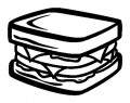 Sandwich Sticker