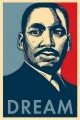 Martin Luther King Dream Sticker
