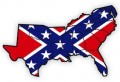 the confederacy dixieland states sticker