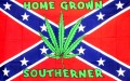 home grown southerner reble flag sticker