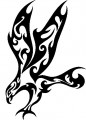 Tribal Eagle Stickers 06