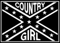 Country Girl Rebel Flag