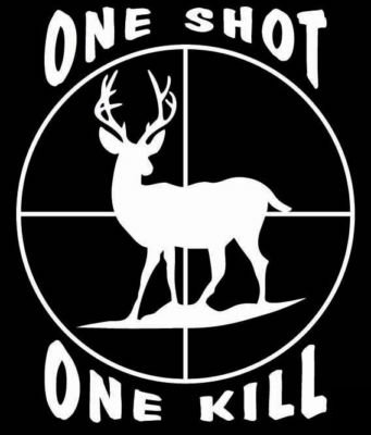 One Shot One Kill Decal Custom Wall Graphics