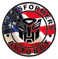1 BADGE DECALS Flag Fill Autobot