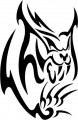 Tribal Cat Sticker Decals 06
