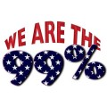 We Are the 99 Percent Sticker