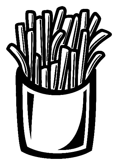 French Fries Sticker Food And Drink Decal Food And Drink