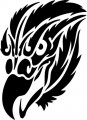 Tribal Eagle Stickers 09