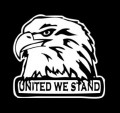 United We Stand Eagle Decal Decal