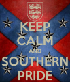 keep calm and southern pride
