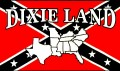 dixieland confederacy rebel flag sticker