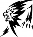 Tribal Lion Stickers 19
