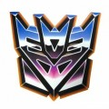 1455 - Color Transformer Decpticon Decal