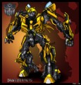 Rectangular BumbleBee Transformer Decal
