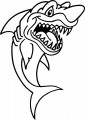 Sharky Wall Decal