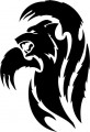 Tribal Bear Sticker Decals 03