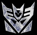 Decepticon Digital Die Cut Decal