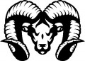 Tribal Ram Stickers 4