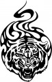 Tribal Tiger Stickers 21
