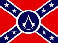 Assassins Creed Confederate Army Flag Sticker