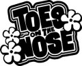 Toes On The Nose Surfing Decal Sticker