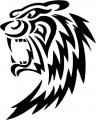 Tribal Tiger Stickers 10