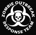 Zombie Team NEW Wall Decal