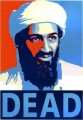 DEAD OSAMA STICKER