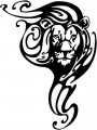 Tribal Lion Stickers 21