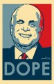 McCain Dope Sticker