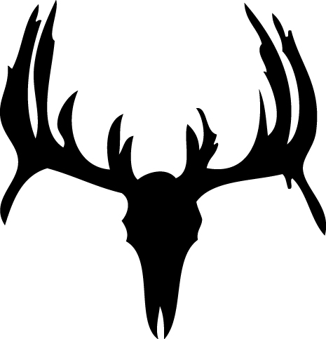 Deer Skull Wall Decal 3