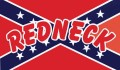 redneck rebel flag sticker