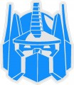 Optimus Prime Transformer Decal