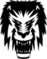 Tribal Lion Stickers 12