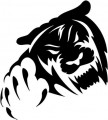 Tribal Bear Sticker Decals 07