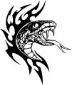Tribal Snake Stickers 11